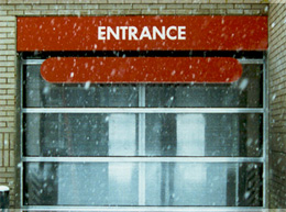Alaska Polycarbonate car wash doors