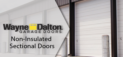 Wayne Dalton Non-Insulated Sectional Doors
