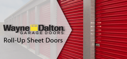 Wayne Dalton Roll-Up Sheet Doors
